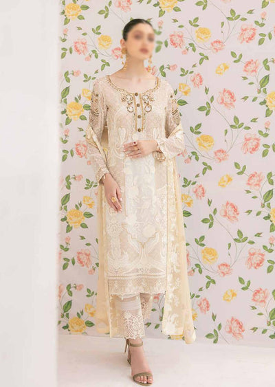 M-307 - Unstitched - Minhal Vol 3 Collection by Ramsha 2020 - Memsaab Online