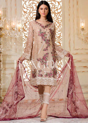 Plum Sorbet - Ramsha Rangoon vol 3 READYMADE Pakistani designer chiffon collection wedding Eid Partywear - Memsaab Online