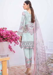 C-309 Unstitched Chevron Luxury Lawn Vol 3 - Memsaab Online