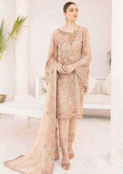 M-310 - Unstitched - Minhal Vol 3 Collection by Ramsha 2020 - Memsaab Online