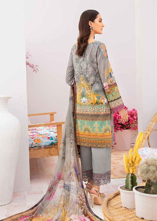 C-310 Unstitched Chevron Luxury Lawn Vol 3 - Memsaab Online