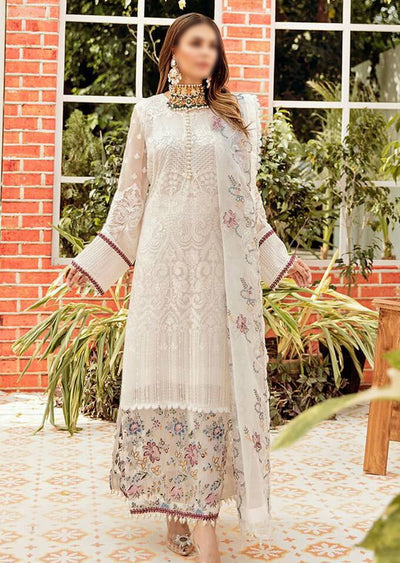 ANR-31 - WHITE FLORENTINE - Readymade Design by Afrozeh - Memsaab Online