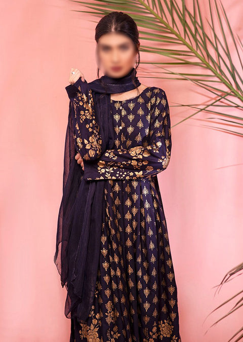 HK31 Readymade Block Print Printed Dress - Memsaab Online