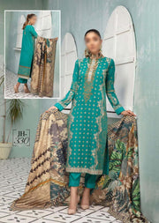 JH-330 Unstitched Nigar Winter Coll' by Johra - Memsaab Online