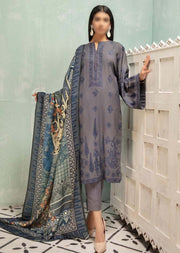 JH-332 Unstitched Nigar Winter Coll' by Johra - Memsaab Online