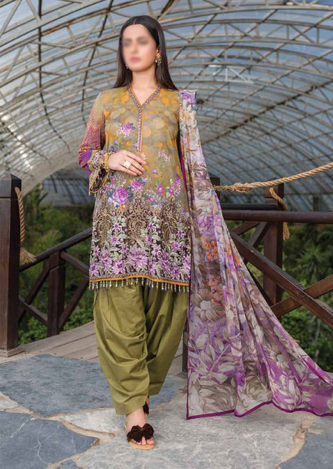 KKS03 - Moss - Readymade - Kuch Khas Collection by Simran Collection 2020 - Memsaab Online