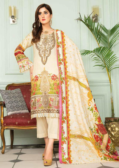 SLM03 - Readymade - Munira Designer Digital Print Collection 2020 - Memsaab Online