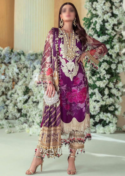 E201-003B - Unstitched - Sana Safinaz Luxury Festive Collection 2020 - Memsaab Online