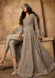 7203 Maisha Aafreen Vol 2 - Unstitched - Indian Partywear Dress Collection - Memsaab Online