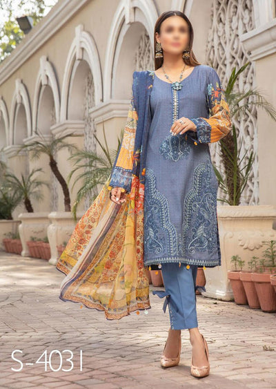 S-4031 - Mehwish Ready To Wear Collection by Simrans 2020 - Memsaab Online