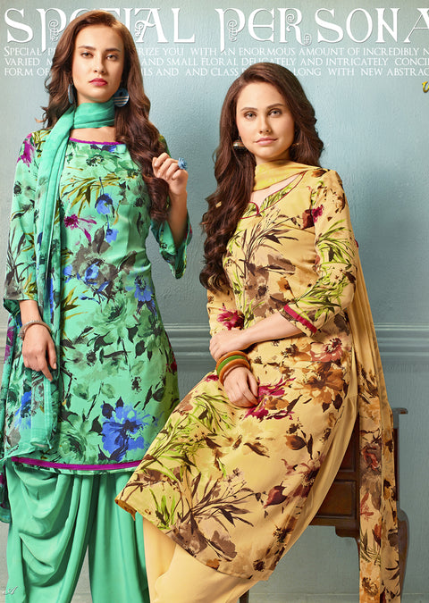 V4302 - Vaishali - Unstitched Collection 2019 - Designer Salwar Kameez suits C-D - Memsaab Online