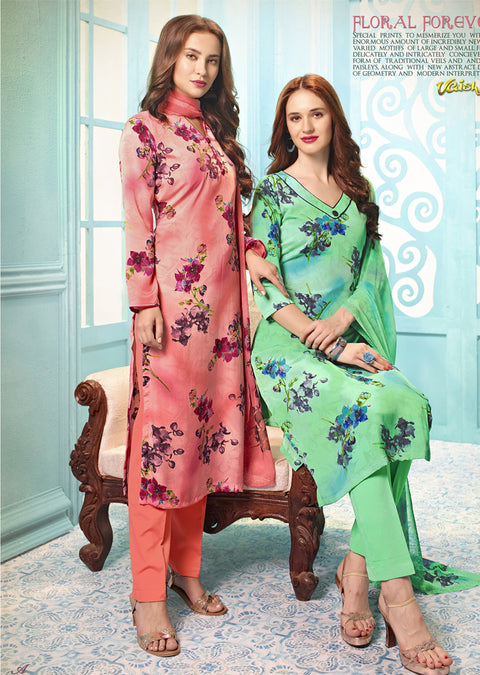 V4315 - Vaishali - Unstitched Collection 2019 - Designer Salwar Kameez suits C - D - Memsaab Online