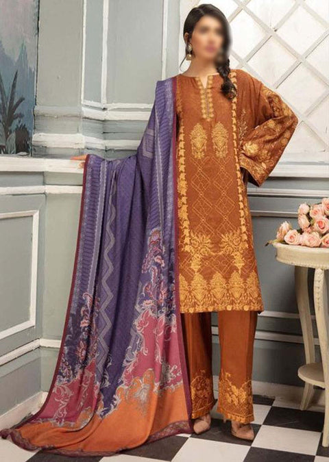 JH-436 Unstitched Chambeli Winter Coll' by Johra - Memsaab Online