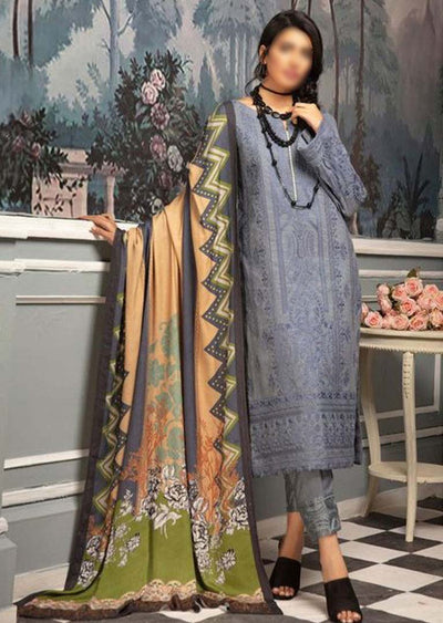 JH-438 Unstitched Chambeli Winter Coll' by Johra - Memsaab Online