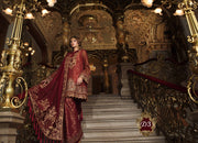 D3 Maria B Mbroidered Wedding Collection 18