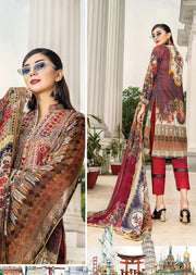 NS04 - Unstitched - Nishat Maysoori Embroidered Collection Vol 1 - Memsaab Online