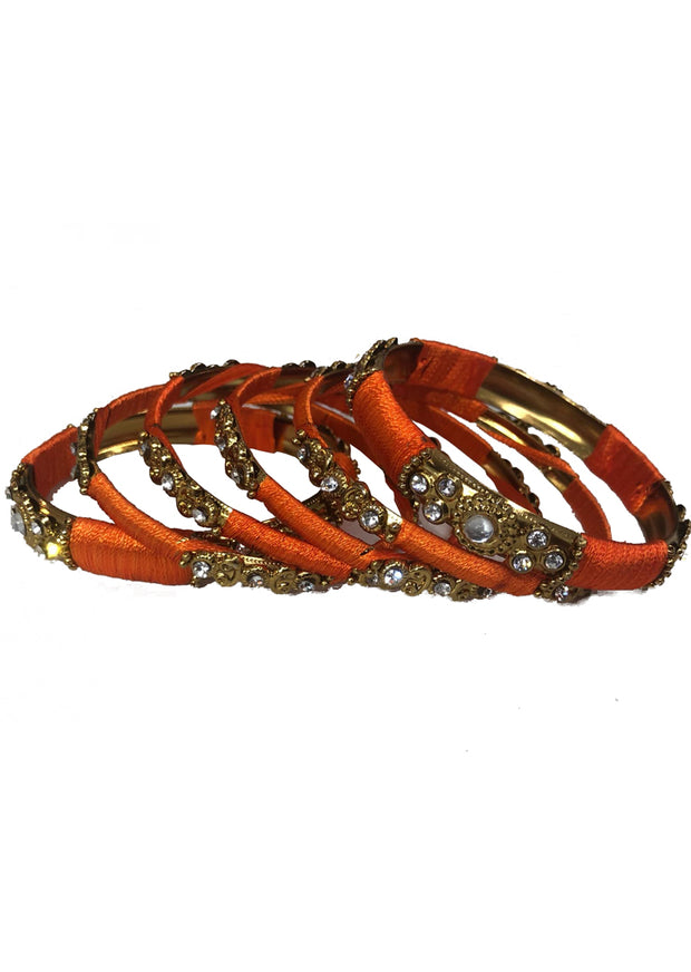 D - Thread bangles Set - Memsaab Online