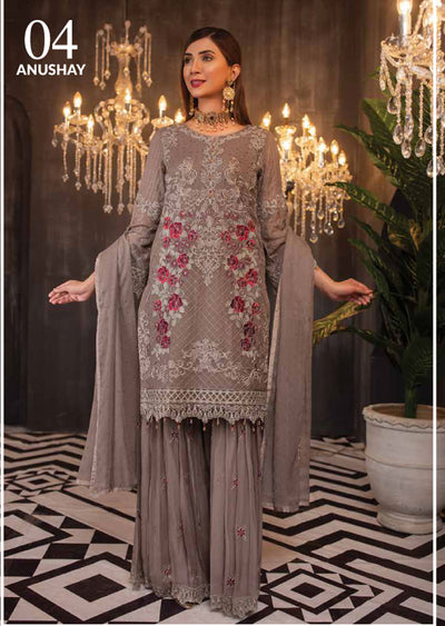 04 - Anushay - Simran Readymade Collection Vol 4 - Memsaab Online