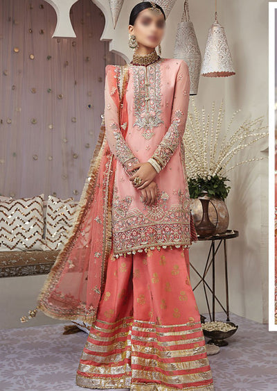 AN04 - ARYANA- Unstitched - Nargis Wedding Collection by Anaya 2020 - Memsaab Online