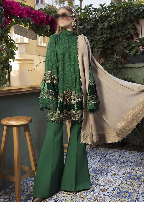 MLB04 - Unstitched - Maria B Linen Collection 2020 - Memsaab Online