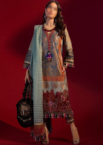 B204-B - Unstitched Kurnool Luxury Collection By Sana Safinaz 2020 - Memsaab Online