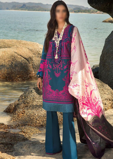 4B Unstitched Luxury Lawn Spring/Summer 2020 - Memsaab Online