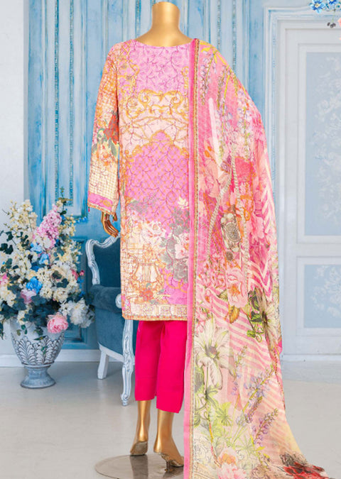 JUR04 Unstitched - Urwa - Viscose Suit by Javed Arts - Memsaab Online