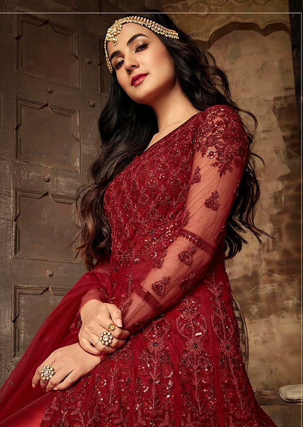 7204 Maisha Aafreen Vol 2 - Unstitched - Indian Partywear Dress Collection - Memsaab Online