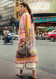 04 Tropical Gust - Epoque Suffuse by Sana Yasir Lawn 2019 - Embroidered Pakistani designerwear UK Delivery - Memsaab Online