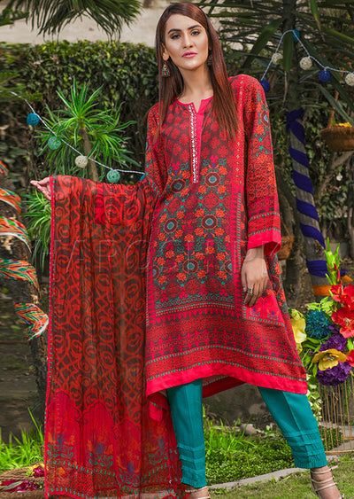 5089-IG-VS - Multi - Sha Posh - Readytowear - Viscose - Pakistani Casual-wear Design - Memsaab Online