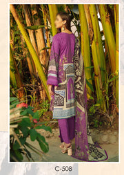 C-508 - Unstitched - Chevron Vol 5 Lawn Collection by Ramsha 2021 - Memsaab Online