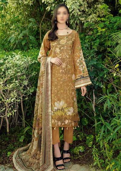 C-510R - Readymade - Chevron Vol 5 Lawn Collection by Ramsha 2021 - Memsaab Online