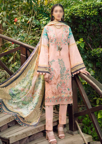 C-511R - Readymade - Chevron Vol 5 Lawn Collection by Ramsha 2021 - Memsaab Online