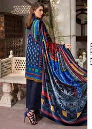 ESHT512 Eshaaisha TWILL / KHADDAR / KARANDI EMBROIDERED COLLECTION 2018