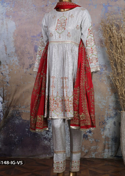 5148 Readymade Sha Posh embroidered Viscose Suit - Memsaab Online