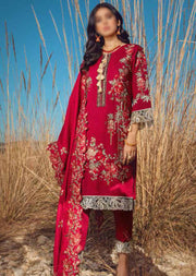 ESA-515 - Eshaisha Luxury Winter Embroidered Collection 2020 - Unstitched Pakistani Designer Suit - Memsaab Online