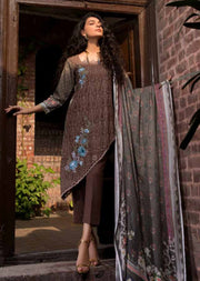 ESHT515 Eshaaisha TWILL / KHADDAR / KARANDI EMBROIDERED COLLECTION 2018