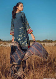 ESA-516 - Eshaisha Luxury Winter Embroidered Collection 2020 - Unstitched Pakistani Designer Suit - Memsaab Online