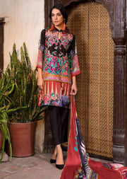 ESHT521 Eshaaisha TWILL / KHADDAR / KARANDI EMBROIDERED COLLECTION 2018