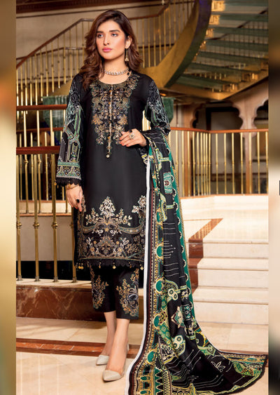 MAL05 - Readymade - Haniya Designer Collection by Munira 2020 - Memsaab Online