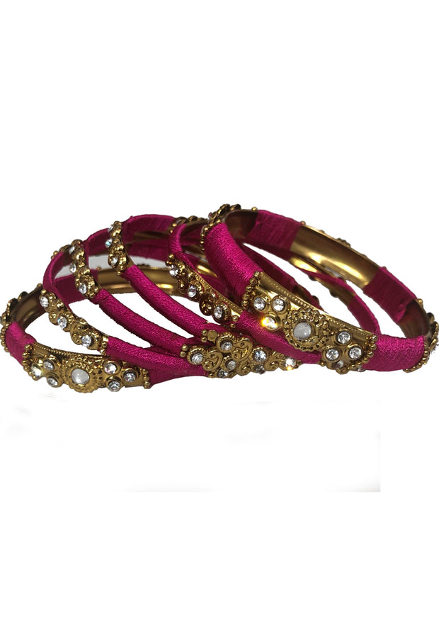 B885 - E - Thread bangles Set - Memsaab Online