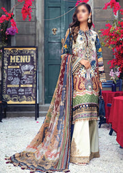 AV05-A - Camilla - Unstitched - Viva Lawn Collection 2021 - Anaya by Kiran Chaudhry - Memsaab Online