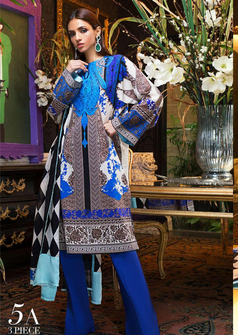 MS05 - A - Unstitched - Mahay by Sana Safinaz Winter Collection - Memsaab Online