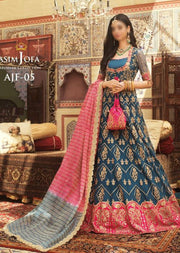 AJF05 - Unstitched - Farozaan Collection by Asim Jofa 2020 - Memsaab Online