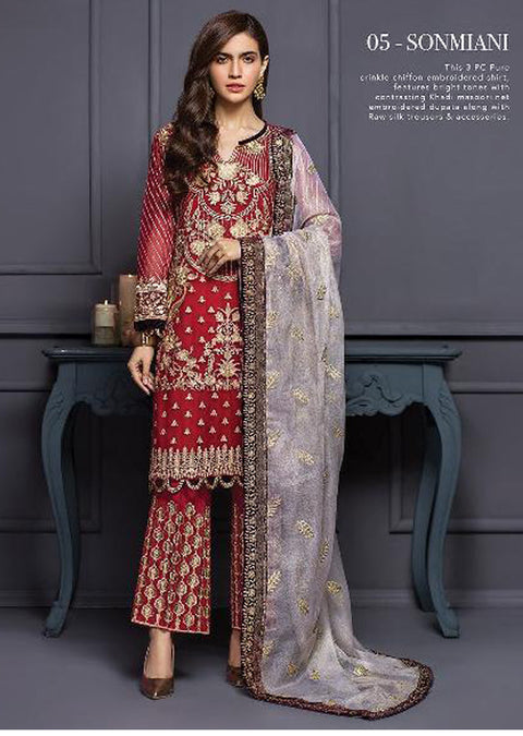 Sonmiani - Xenia Formal Viola Collection '2020 - READYMADE Design - Memsaab Online