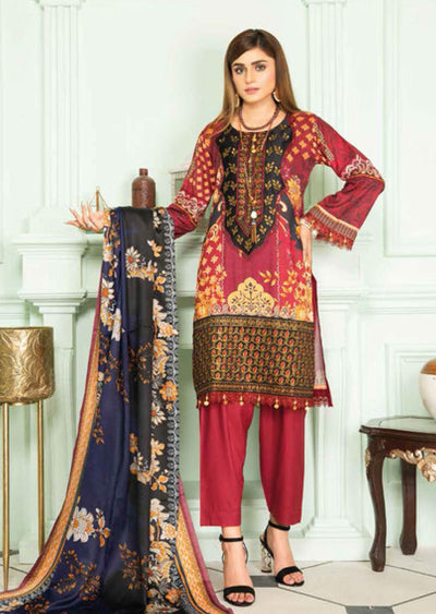 SLM05 - Readymade - Munira Designer Digital Print Collection 2020 - Memsaab Online