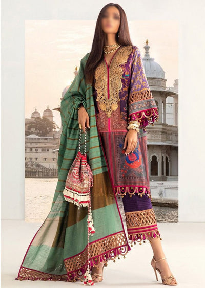 B205-B - Unstitched Kurnool Luxury Collection By Sana Safinaz 2020 - Memsaab Online