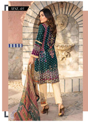 MSSL05 - Readymade - Munira Digital Airjet Lawn Collection 2020 - Memsaab Online