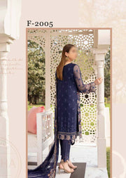 F-2005 - Unstitched - Ramsha Luxury Chiffon Collection Vol 20 - Memsaab Online