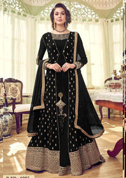 Unstitched Swagat inspired Georgette Jacket Style Suit - Memsaab Online